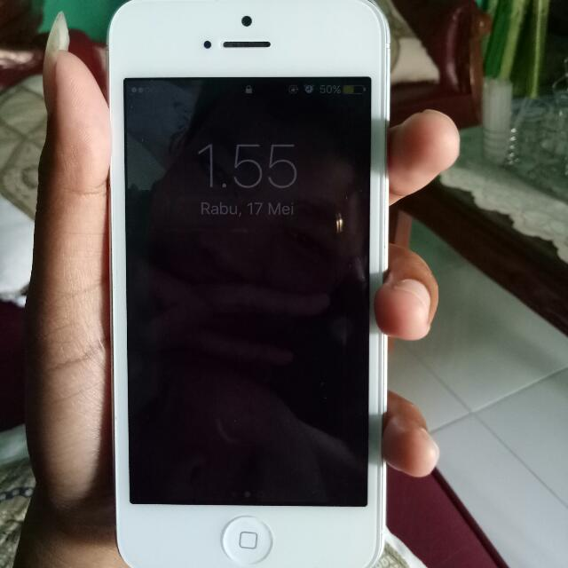 Iphone 5 16gb white fullset 590793908f