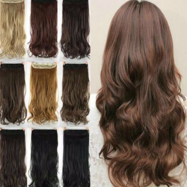 Japanese Hair Extensions Womens Fashion Accessories On Carousell