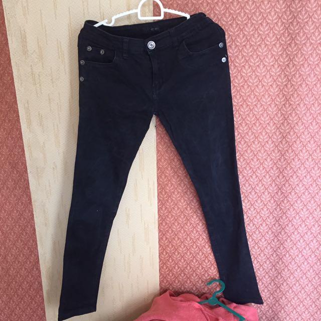 Jeans Black Fit Size 30 #tisgratis