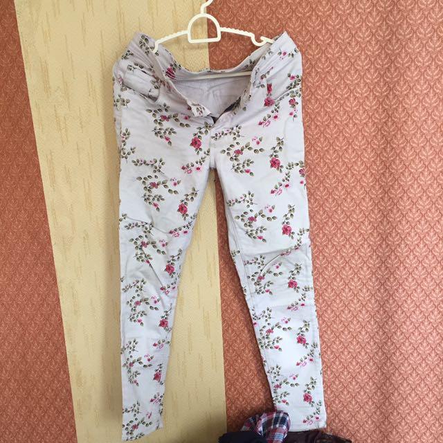 Jeans Flower #tisgratis Size 29