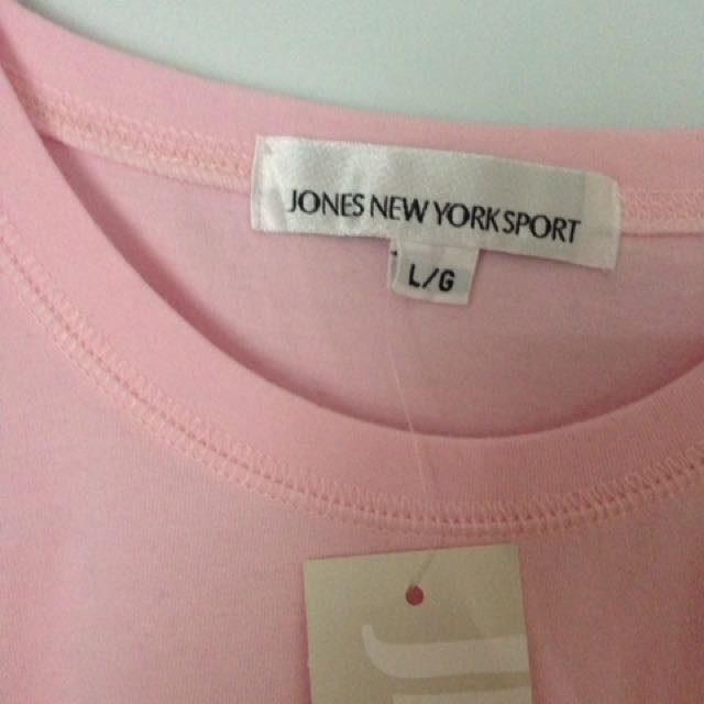 Jones New York Pink Tshirt