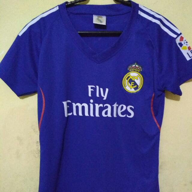 Kaos Jersey Real Madrid