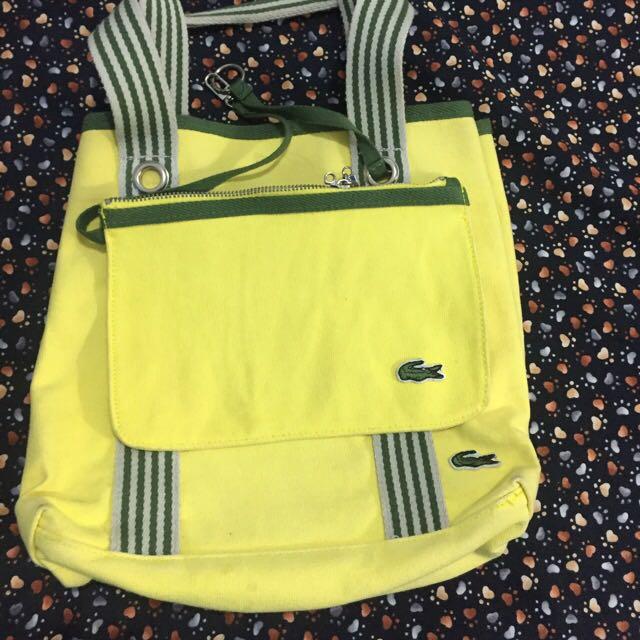 Lacoste Bag Bought In Hongkong