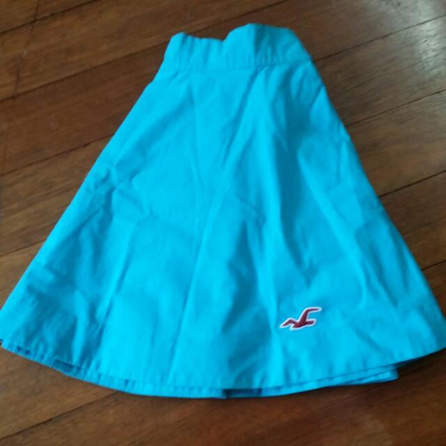Light Blue Hollister Skirt (Repriced)