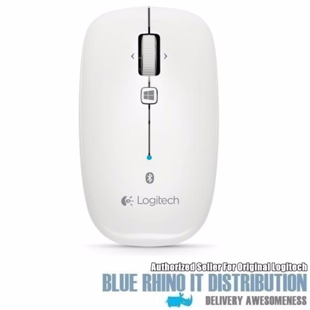Logitech Bluetooth Mouse M557 (White)