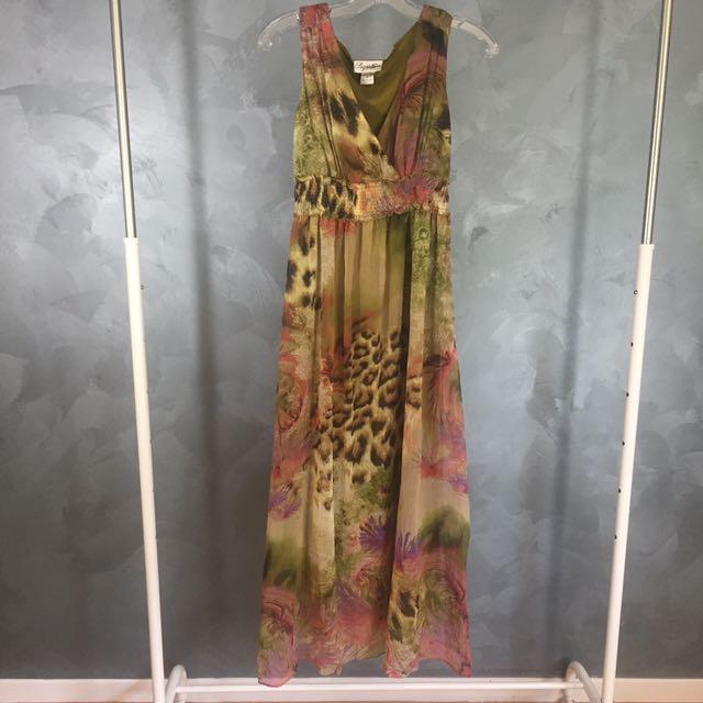 Long Floral Summer Maxi Dress