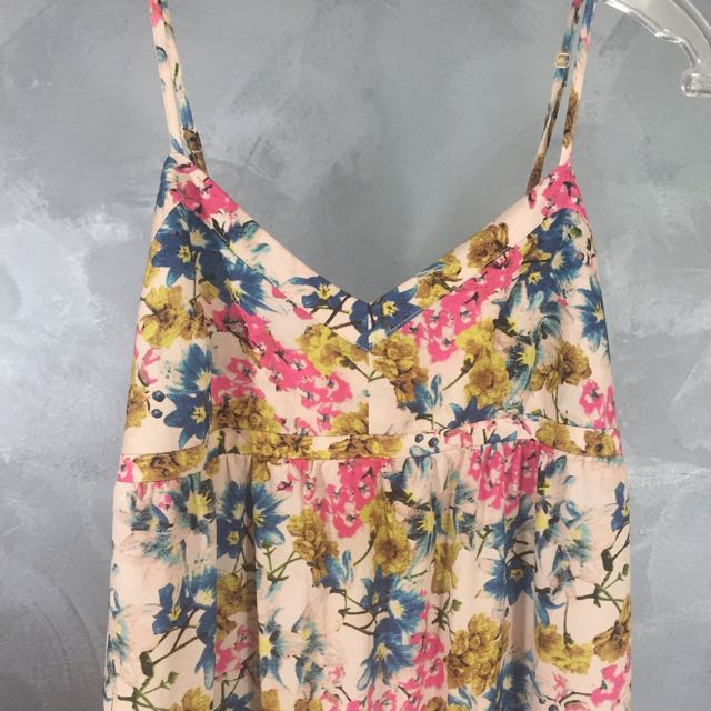 Long Summer Floral Dress