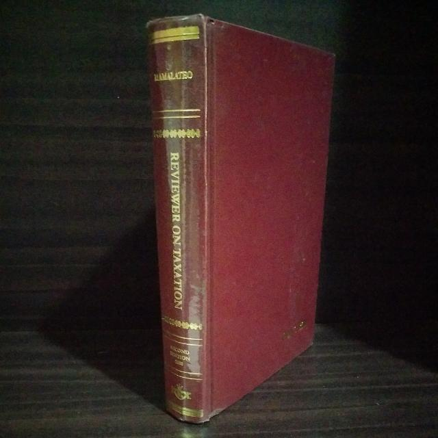 Mamalateo, Reviewer On Taxation, Second Edition (2008)
