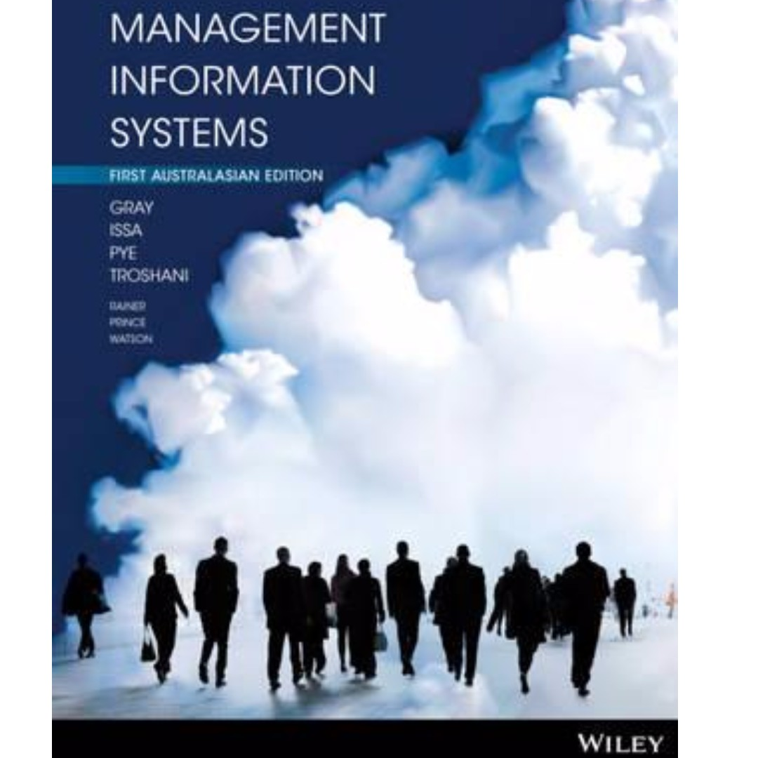Management Information Systems 1st Australasian Edition