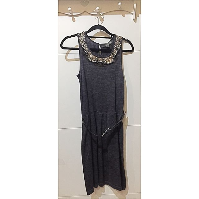 Mango Grey Dress (Nett price)