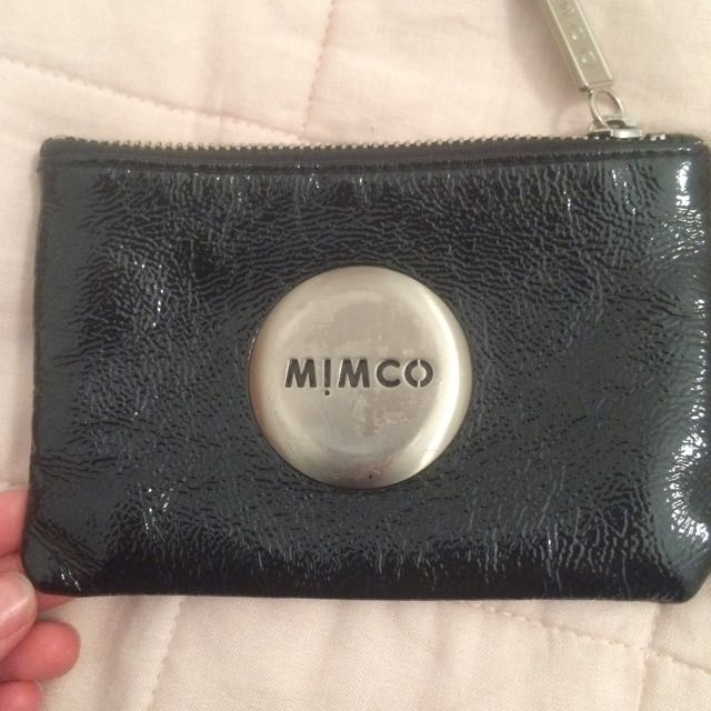 PRICE DROP* Mimco Black Pouch