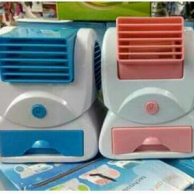 Clearance SALE!! Mini Aircon Fan (Pink)