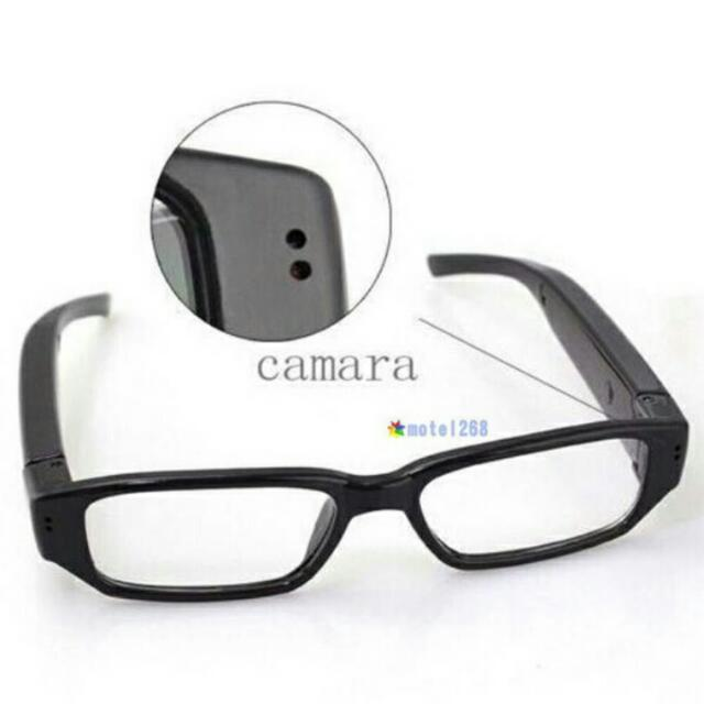 3fff50fcf607 Po)Mini HD 720P Spy Camera Glasses Hidden Eyewear DVR Video Recorder ...