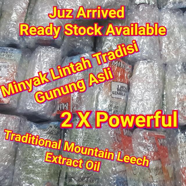 minyak lintah tradisi gunung asli traditional extract mountain