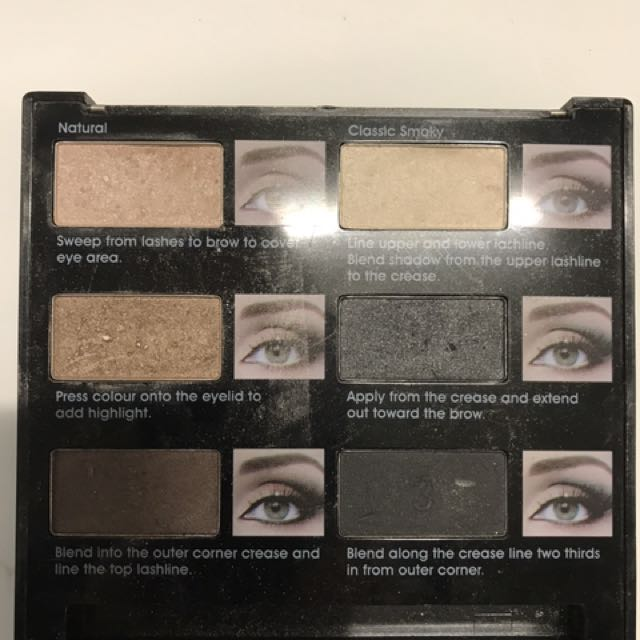 Mode Co Eyeshadow Palette - Smoky - Used Once