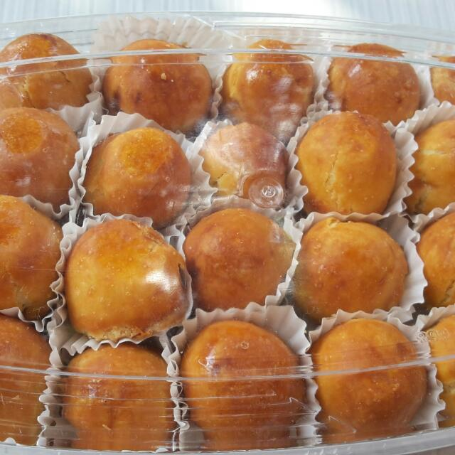 Nastar Bulat. Cookies Lebaran. Kue Kering