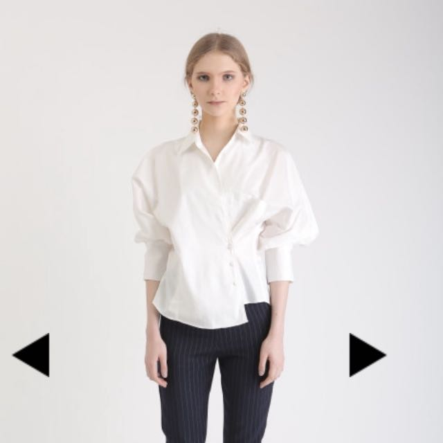 NEW Missechic Willow Top Off White
