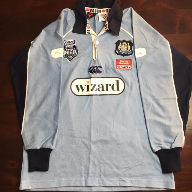 NSW State Of Origin Blues Jersey Size 12yrs