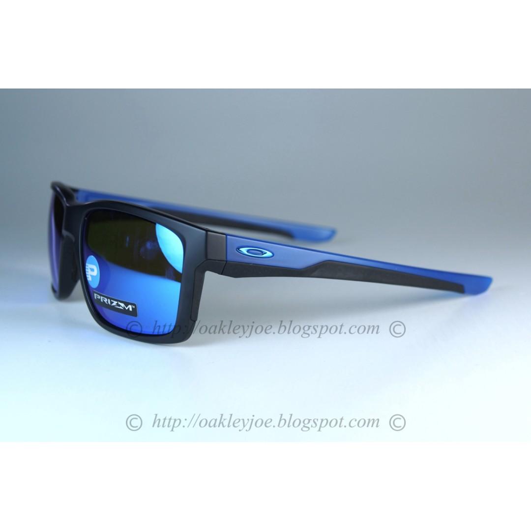 c8246ceebd5 Oakley mainlink matte black sapphire + prizm sapphire polarized ...