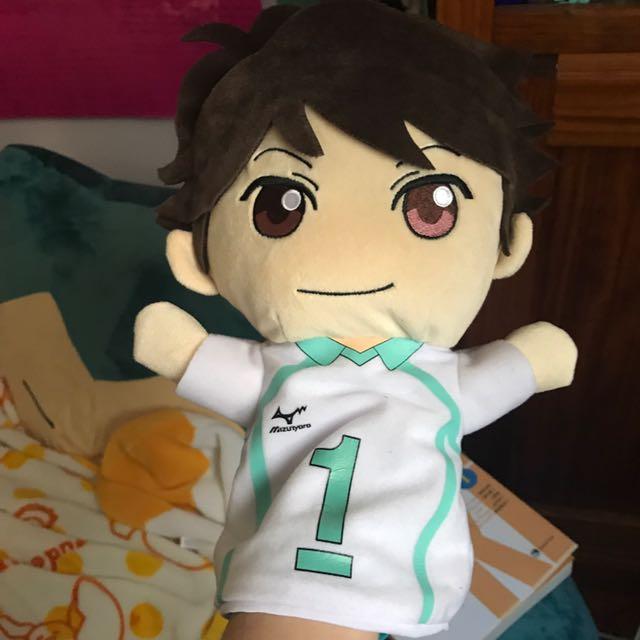 Oikawa Toru Haikyuu Hand Puppet