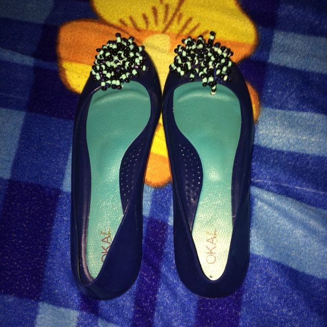 Okab Jelly Shoes, Size 6