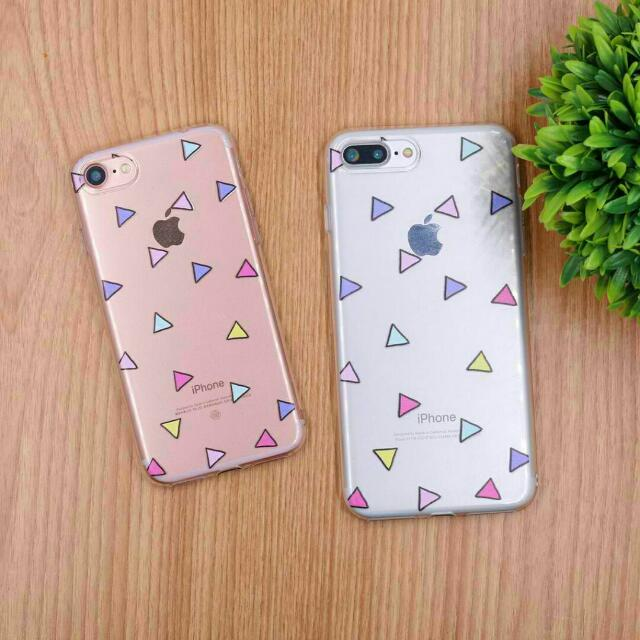 Pastel Triangle Mobile Phone Case [Apple / Samsung / Oppo]