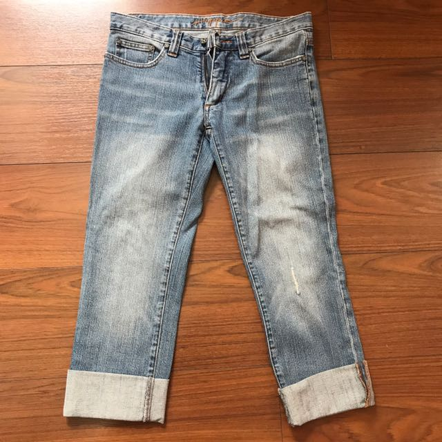 People are People Crop Jeans