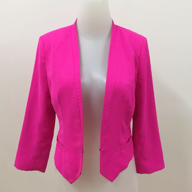 Pink Stabillo Blazer