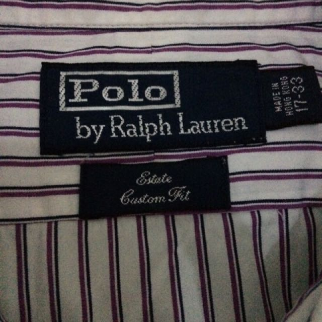 Polo by Ralph Lauren (Long Sleeve) M