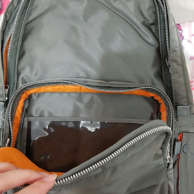 Porter 日本製 輕量後背包 墨綠色