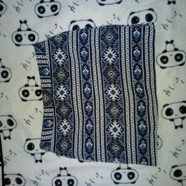 Preloved Aztec Mini Skirt