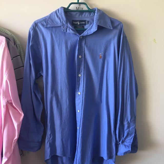Ralph Lauren Blue Button Up