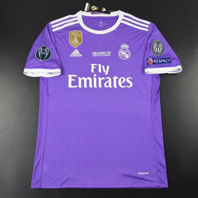 e596cd24 Real Madrid Champions League Final Away Kit Adizero version size M [RONALDO  7] with Champions League patches, Sports, Sports Apparel on Carousell