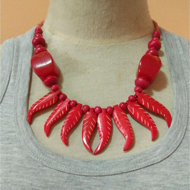 Red Chilli Necklace