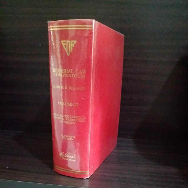 Regalado, Remedial Law Compendium Vol. 2, 11th Edition (2008)