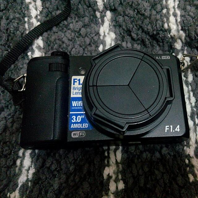 Samsung Ex2f 三星翻轉自拍相機
