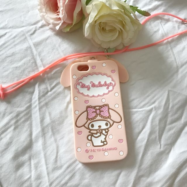 Sanrio My Melody Rubber iPhone 6/6S Case