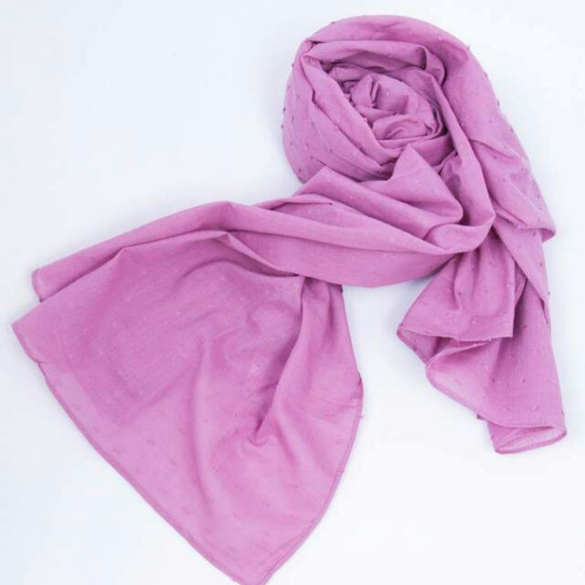 scarf / pasmina dusty pink