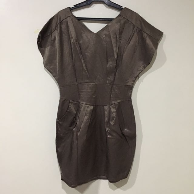 Shiny Tulip Dress (unbranded)