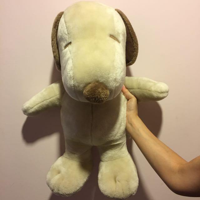 台中新光三越購入Snoopy玩偶