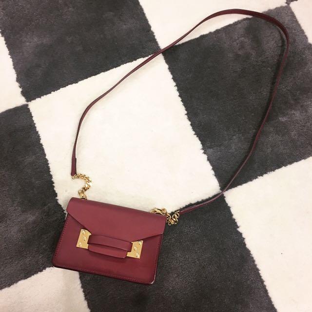 Sophie hulme mini handbag