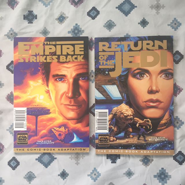 Star Wars Comic Books (Empire Strikes Back and Return of the Jedi)