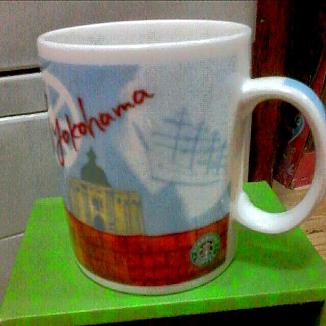 starbucks yokohama mug