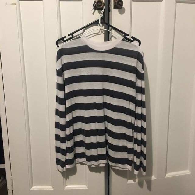 striped 'neuw' top