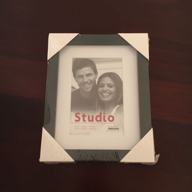 "Studio 4 X 6"" Black Photo Frame"