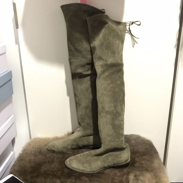SW Style Green Boots Size37/38