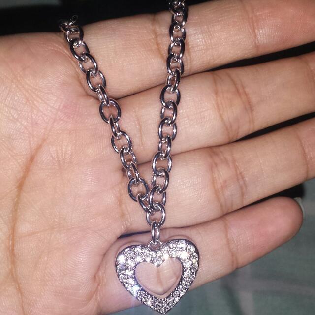 Swarovski Crystal Open Heart Bracelet