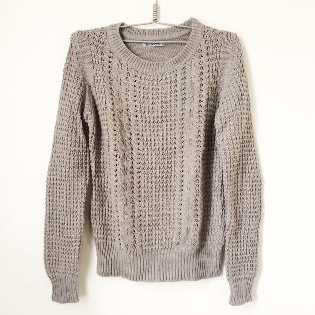 Terranova Knit Sweater