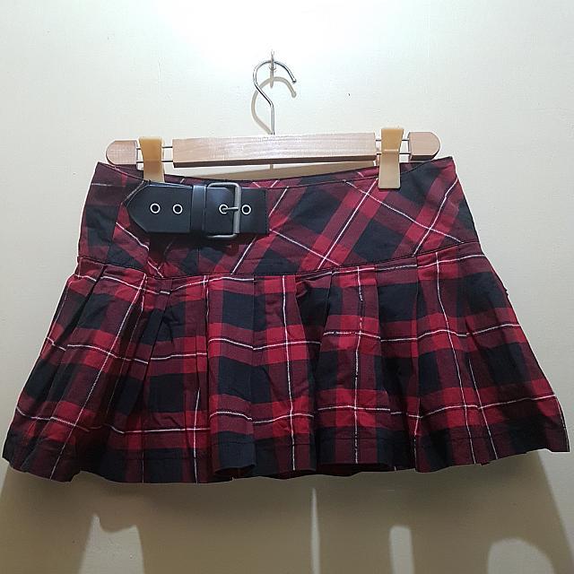 Terranova Plaid Skirt