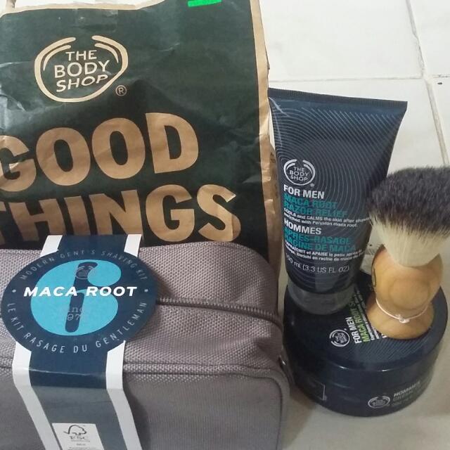 The Body Shop Shaving Macaroot